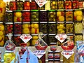 Grand Market Hall, pickled vegetables, 2013 Budapest (418) (13227548004).jpg