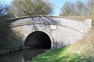 Saddington - Entrance to canal tunnel