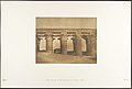 Grande Colonnade du Palais d'Aménophis III, à Luxor, Thèbes MET DP131862.jpg