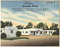 Grande Motel, on Highway 50, east side, Syracuse, Kansas (8734328779).jpg