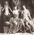 Gravure Louis IX Marguerite Blanche par Deveria.jpg