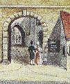 Graz-Murtore und Franziskanerkirche-Aquarell von Josef Kuwasseg-1835 - Detail.jpg