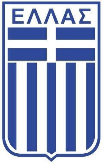 Greece national basketball team - Greek national basketball team of 1987 logo