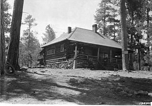 Apache-Sitgreaves National Forest - Greer, Arizona Ranger Station, 1924