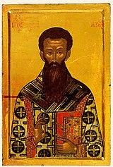 Ο ηγέτης της μερίδας των Ησυχαστών και κορυφαία πνευματική προσωπικότητα της μεσαιωνικής Θεσσαλονίκης, Αρχιεπίσκοπος Γρηγόριος Παλαμάς.