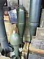 Grenade, Ben Junier ammo collection at the Overloon War Museum pic2.JPG