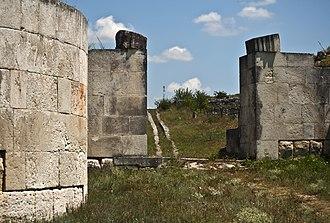 Adamclisi - Image: Grigore Roibu Adamclisi castru roman