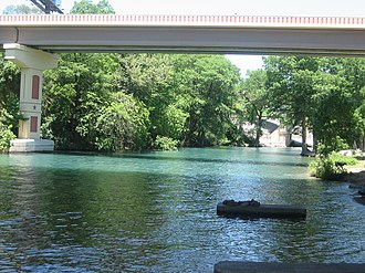 Guadalupe River (Texas) - Image: Guadalupe River of Texas IMG 0500
