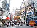 Guanqian Road and Hankou Street intersection, Taipei City 20080712.jpg