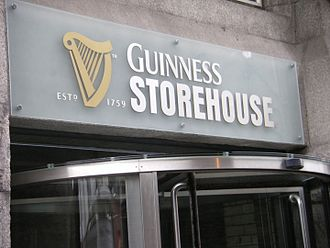 Guinness Storehouse - The entrance to the Storehouse