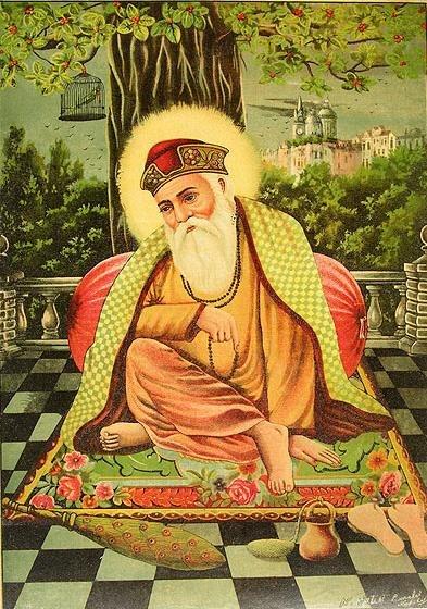 Guru Nanak Dev by Raja Ravi Varma