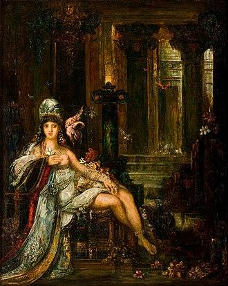 Delilah - Image: Gustave Moreau Dalila