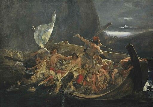 Gysis Nikolaos After the destruction of Psara