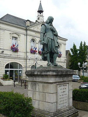 Descartes, Indre-et-Loire - Town hall