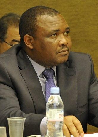 2012 Lesotho general election - Image: H.E. Mr. Mothetjoa Metsing, Deputy Prime Minister, Kingdom of Lesotho (8008839925) (cropped)