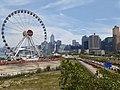HK 中環 Central 民光街 Man Yiu Street 行人天橋 footbridge view big eye April 2020 SS2 12.jpg