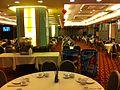 HK Sheung Wan 上環 Lok Ku Road 嘉豪酒家 Ka Ho Restaurant interior night Sept-2013 01.JPG