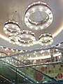 HK YL 元朗 Yuen Long 鳳翔路 Fung Cheung Road 交通廣場 Transport Plaza mall restanrant interior ceiling lamps Dec 2016 Lnv2.jpg