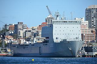 HMAS <i>Choules</i> Bay-class landing ship