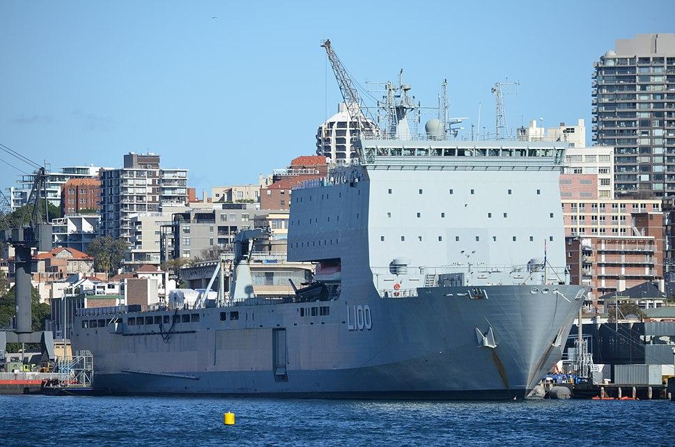 HMAS Choules FBE 2014