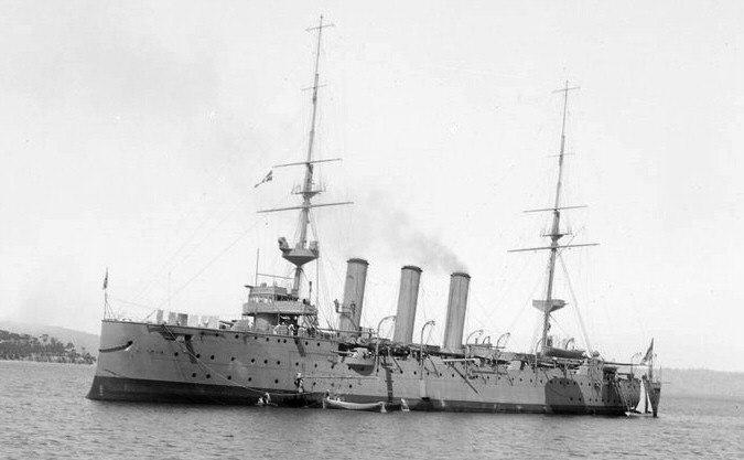 HMS Challenger AllanGreen