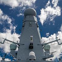 HMS Daring SAMPSON is a multi-function AESA radar
