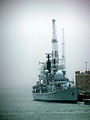 HMS Gloucester docked on Portsmouth harbour.jpg