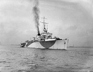 HMS Vestal (J215) - Image: HMS Vestal FL21022
