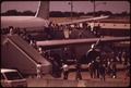 HONOLULU INTERNATIONAL AIRPORT HANDLES ALMOST ALL OF THE ISLAND'S VISITORS. SOME 2.7 MILLION ARE ANTICIPATED IN 1973 - NARA - 553730.tif