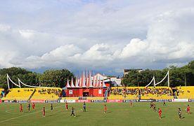 Haji Agus Salim Stadium east stand.JPG