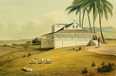 Hakewill, A Picturesque Tour of the Island of Jamaica, Plate 17.jpg