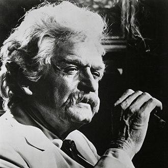 Mark Twain Tonight! - Holbrook performing as Twain at the University of Houston