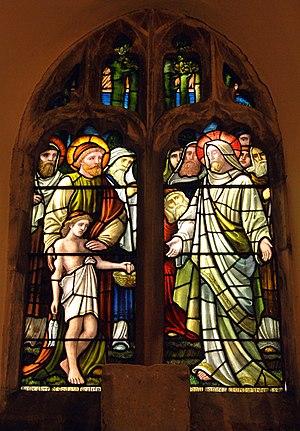 Hambleton, Rutland - Image: Hambleton Rutland St Andrew Window
