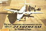 Handley Page Jetstream sales brochure (April 1968) - Front cover (7728318444).jpg