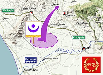 Battle of Ager Falernus - Hannibal's breakout from Ager Falernus
