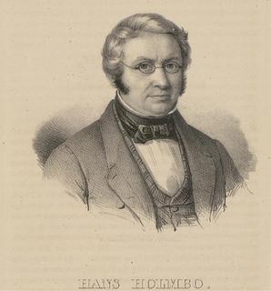 Hans Holmboe Norwegian educator and politician