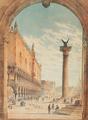 Harald Conrad Stilling - Parti fra Venedig - 1851.png