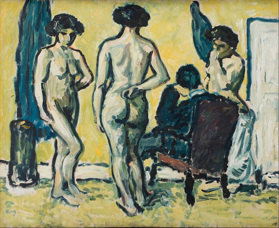 """""""Le jugement de Paris"""" de Harald Giersing (1909) à Copenhague."""