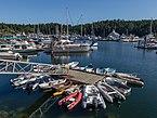 Harbor in Ganges, Saltspring Island, British Columbia, Canada 08.jpg
