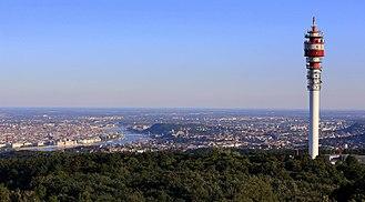 Hármashatár-hegy - View of Budapest from Hármashatár-hegy.