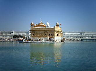 Harmandir Sahib in Amritsar is a major tourist destination in Punjab Harminder sahib5.jpg