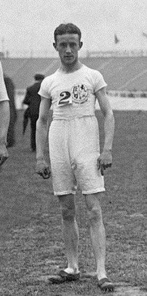 Harold A. Wilson - Harold Wilson at the 1908 Olympics