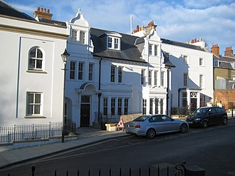 1927 FA Cup Final - The former Kings Head Hotel in Harrow on the Hill in 2007, where the Cardiff City team spent their evening before the final.