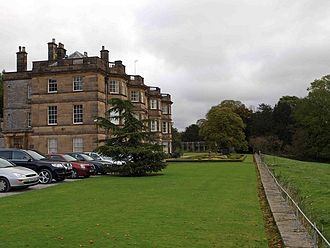 Hassop Hall - the hotel today