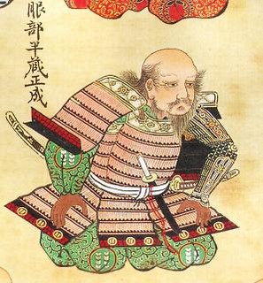 samurai of the Sengoku era; major samurai ally of the Tokugawa clan