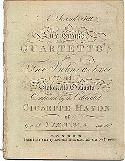 String Quartets, Op. 20 (Haydn)