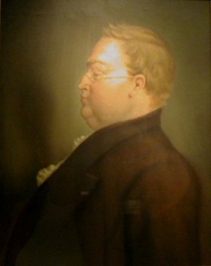 John Haywood (historian) - Portrait of Haywood by Lloyd Branson
