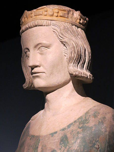 File:Head of statue of the king Saint-Louis (Louis IX) (exhibition Saint-Louis 2014-2015).jpg