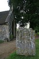 Headstone near the porch - geograph.org.uk - 1315639.jpg