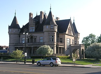 East Ferry Avenue Historic District - Image: Hecker House Detroit Michigan